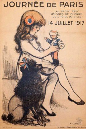 Maison de l'Epargne - Affiche Journée de Paris 1917