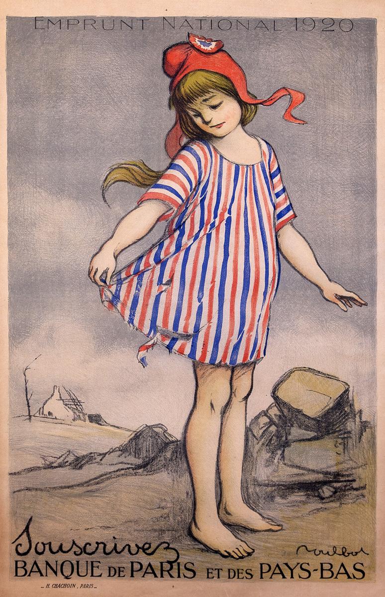 """Poulbot """"Emprunt National 1920"""""""